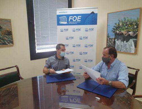 Convenio de SEININ con la Federación Onubense de Empresarios